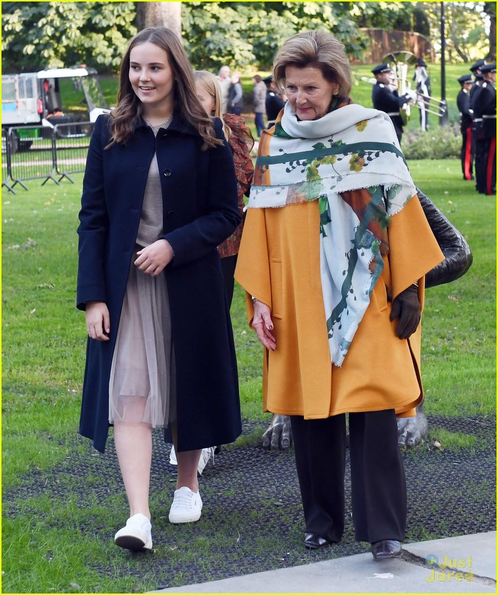 ingrid alexandra officially opens park oslo 19