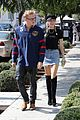 miley cyrus and cody simpson step out for museum and sushi date 04