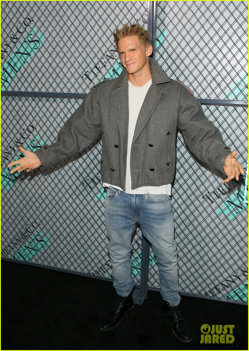 cody simpson at tiffany co event 15
