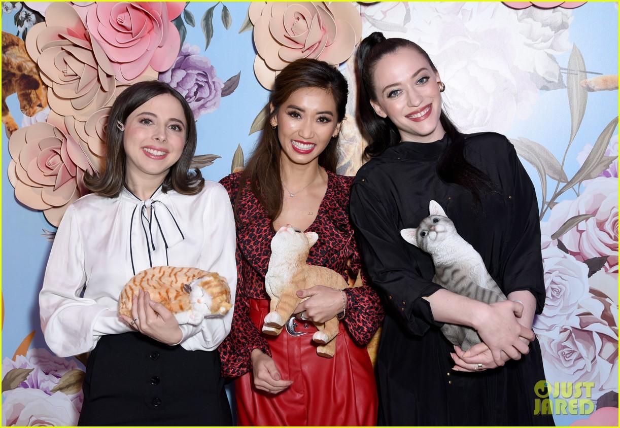 kat dennings brenda song ester povitsky bring dollface to 29rooms event 12
