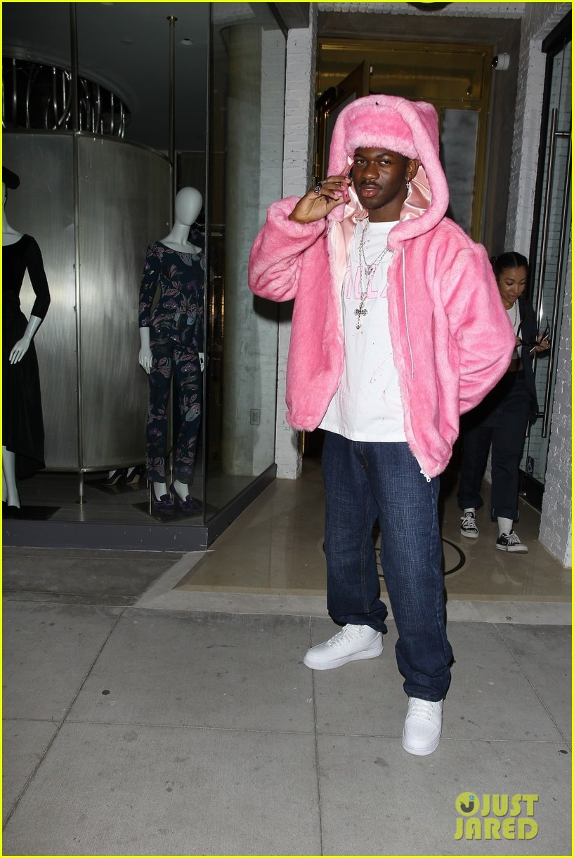 normani lil nas x dress up as selena and camron beyonce jay z halloween party 05