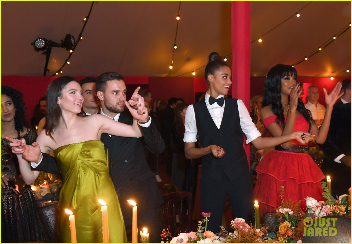 liam payne maya henry party with charlies angels 03