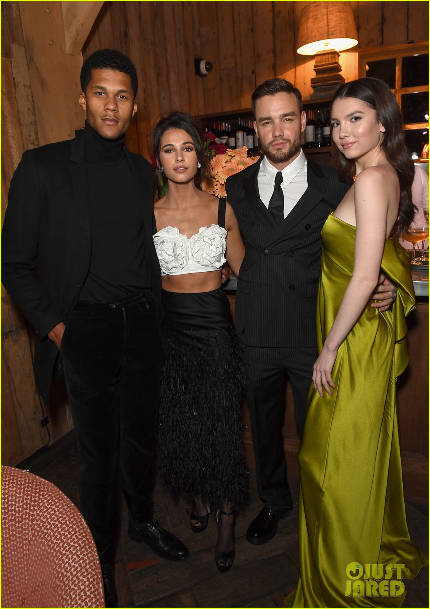 liam payne maya henry party with charlies angels 05