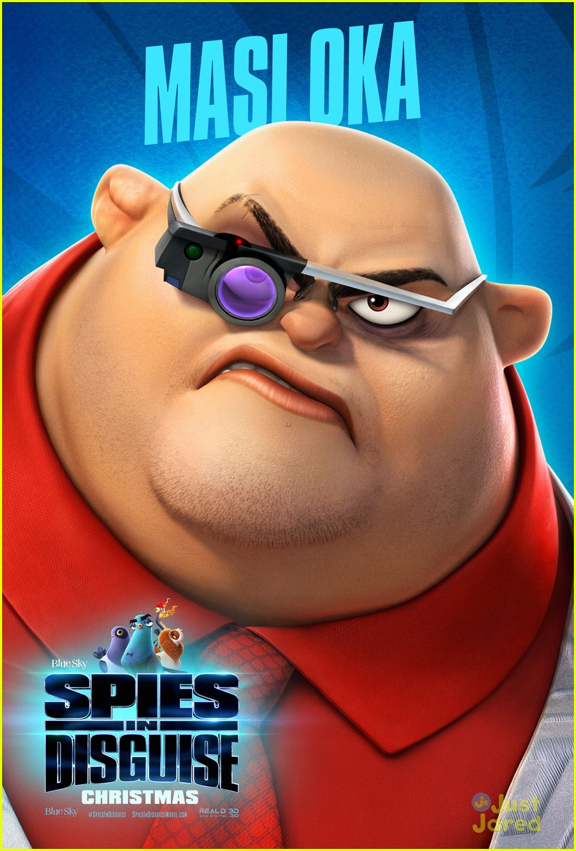 spies in disguise trailer posters 06