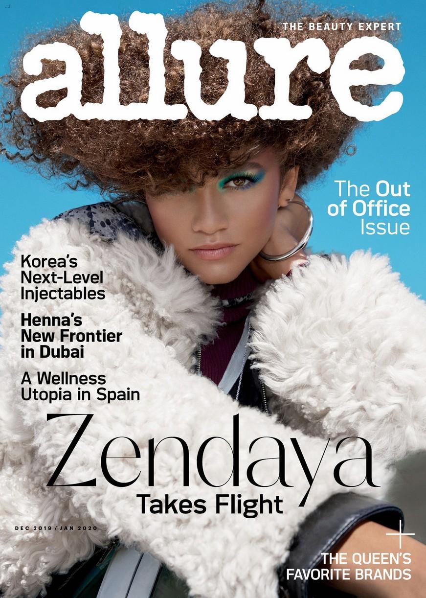 zendaya allure cover talks fans music more 01