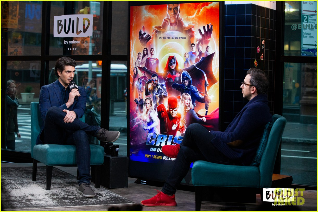 brandon routh reveals how he was asked to be superman in crisis 04
