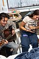 kenzie ziegler isaak presley visit ucla mattel childrens hospital for music therapy 01