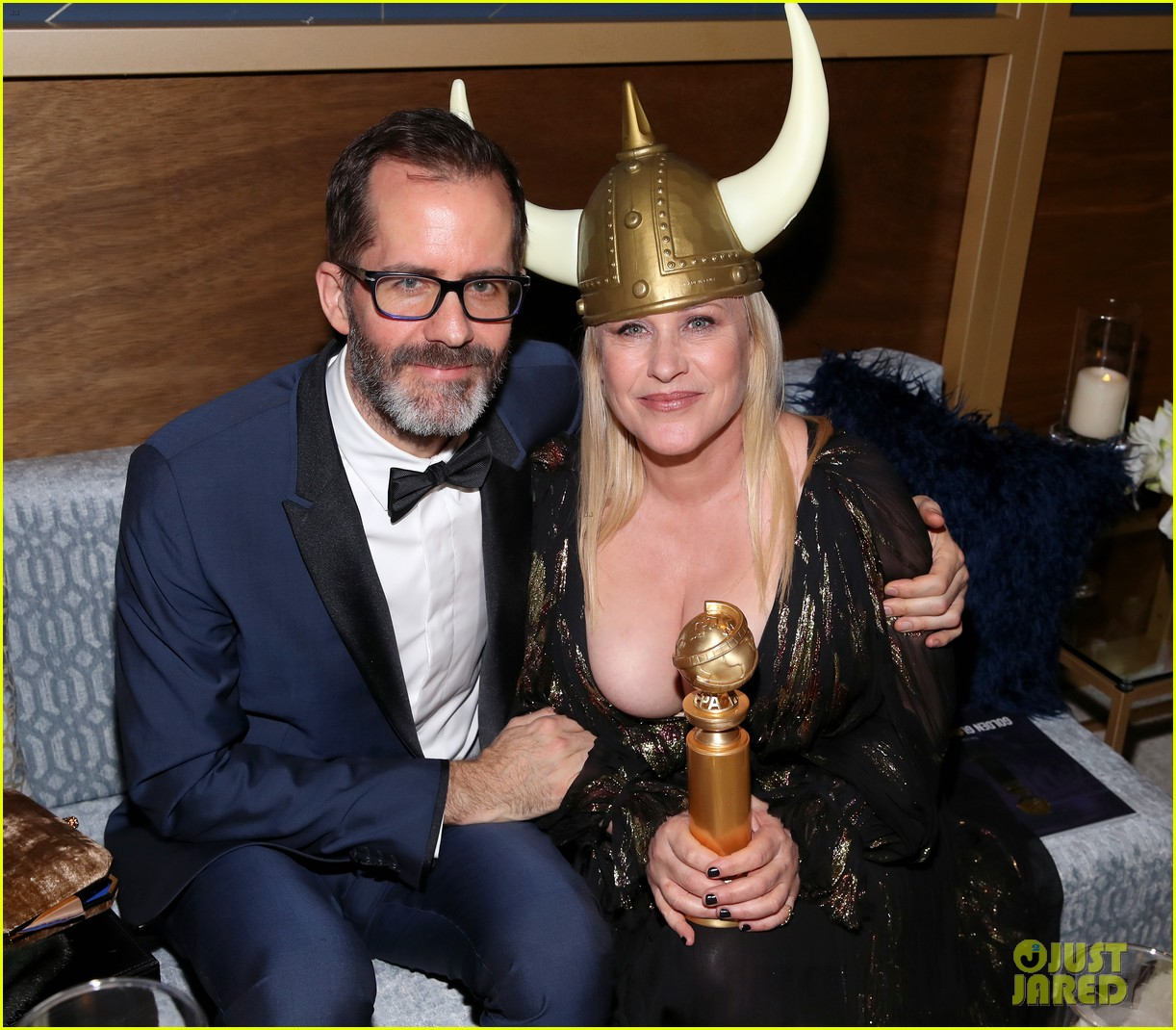 joey king patricia arquette golden globes parties 04