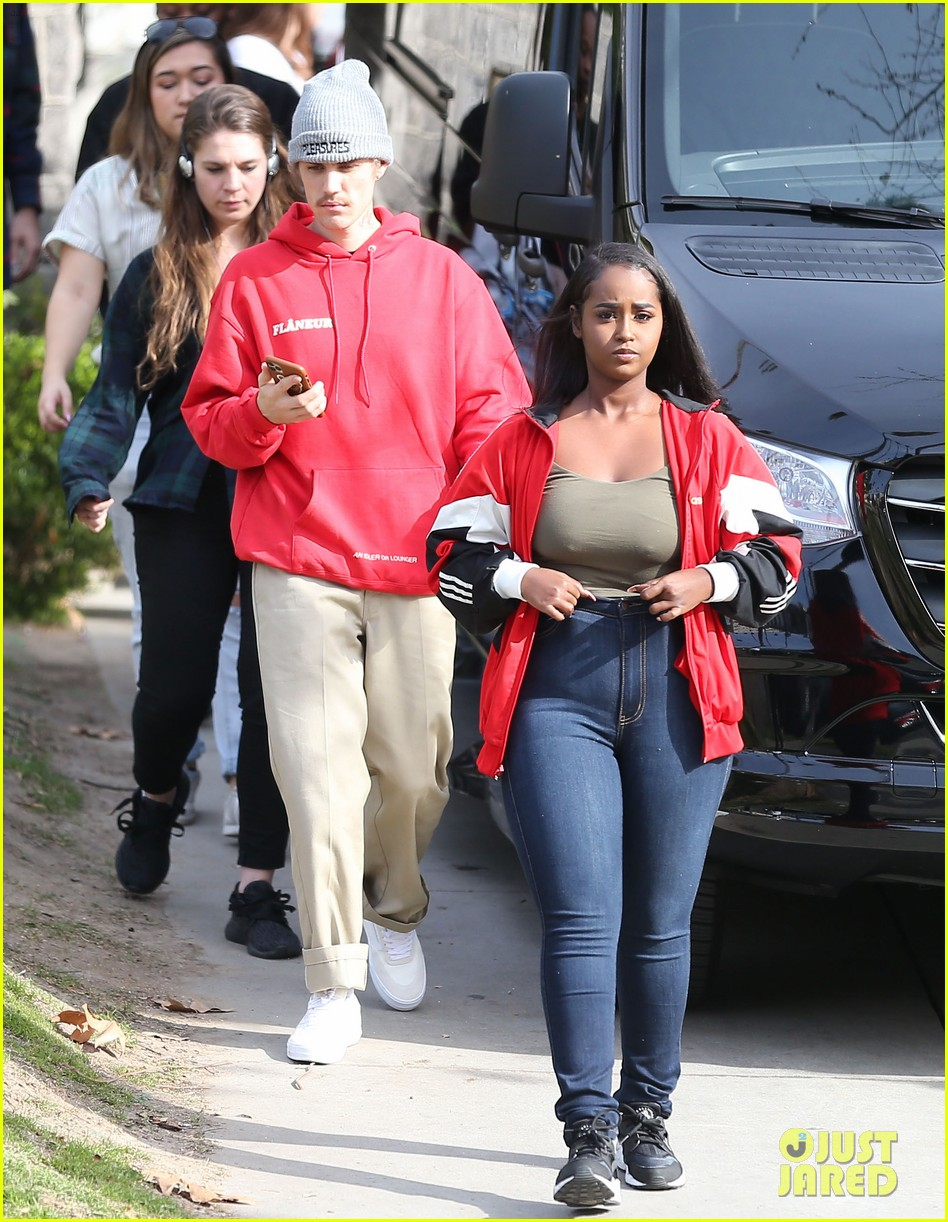 justin bieber films new music video at daycare in la 12