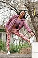 keke palmer works on fitness in nyc 08