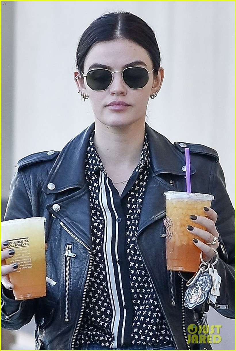 lucy hale gets double dose of caffeine ahead of the weekend 02