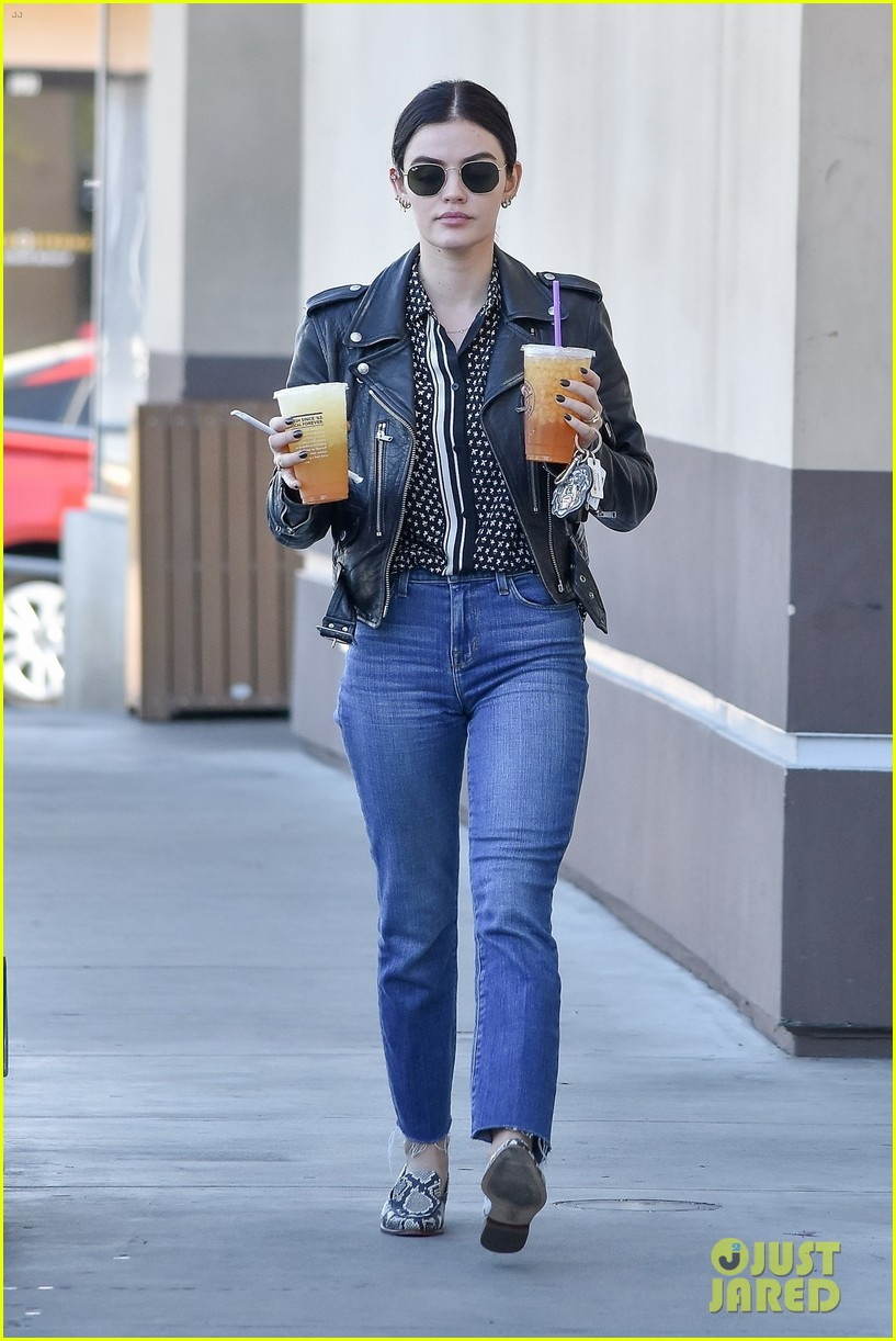 lucy hale gets double dose of caffeine ahead of the weekend 05