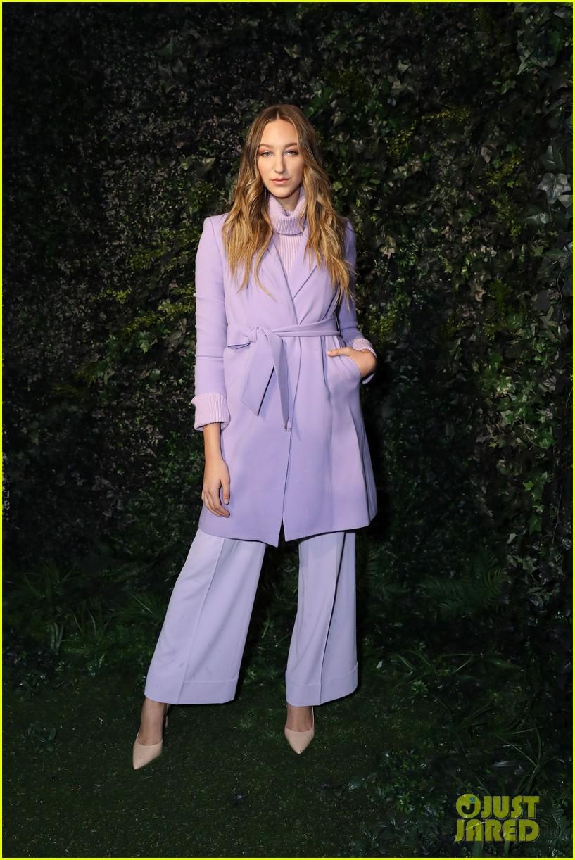 ava michelle chloe lukasiak bring the color to alice olivia fashion show 04