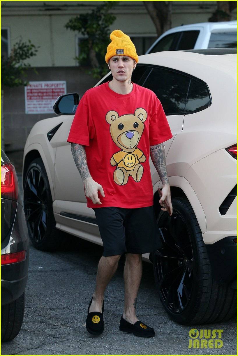 justin bieber clean shaven quality time with hailey 09