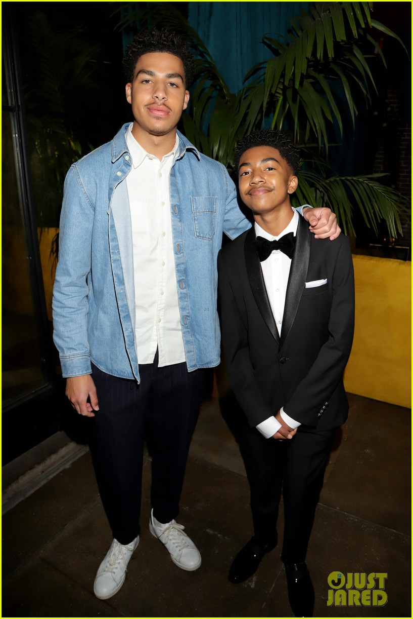 jenna ortega and grownish cast attend naacp image awards after party 04