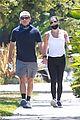 lea michele zandy reich pregnant baby bump stroll 52