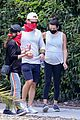 pregnant lea michele goes for hike with zandy reich mom 03