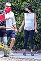 pregnant lea michele goes for hike with zandy reich mom 06