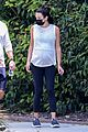 pregnant lea michele goes for hike with zandy reich mom 09