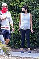pregnant lea michele goes for hike with zandy reich mom 10