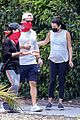 pregnant lea michele goes for hike with zandy reich mom 11