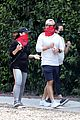 pregnant lea michele goes for hike with zandy reich mom 15
