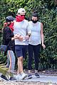 pregnant lea michele goes for hike with zandy reich mom 17