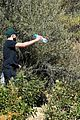 ashley benson g eazy hold hands hiking in the hills 23