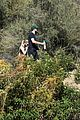 ashley benson g eazy hold hands hiking in the hills 32