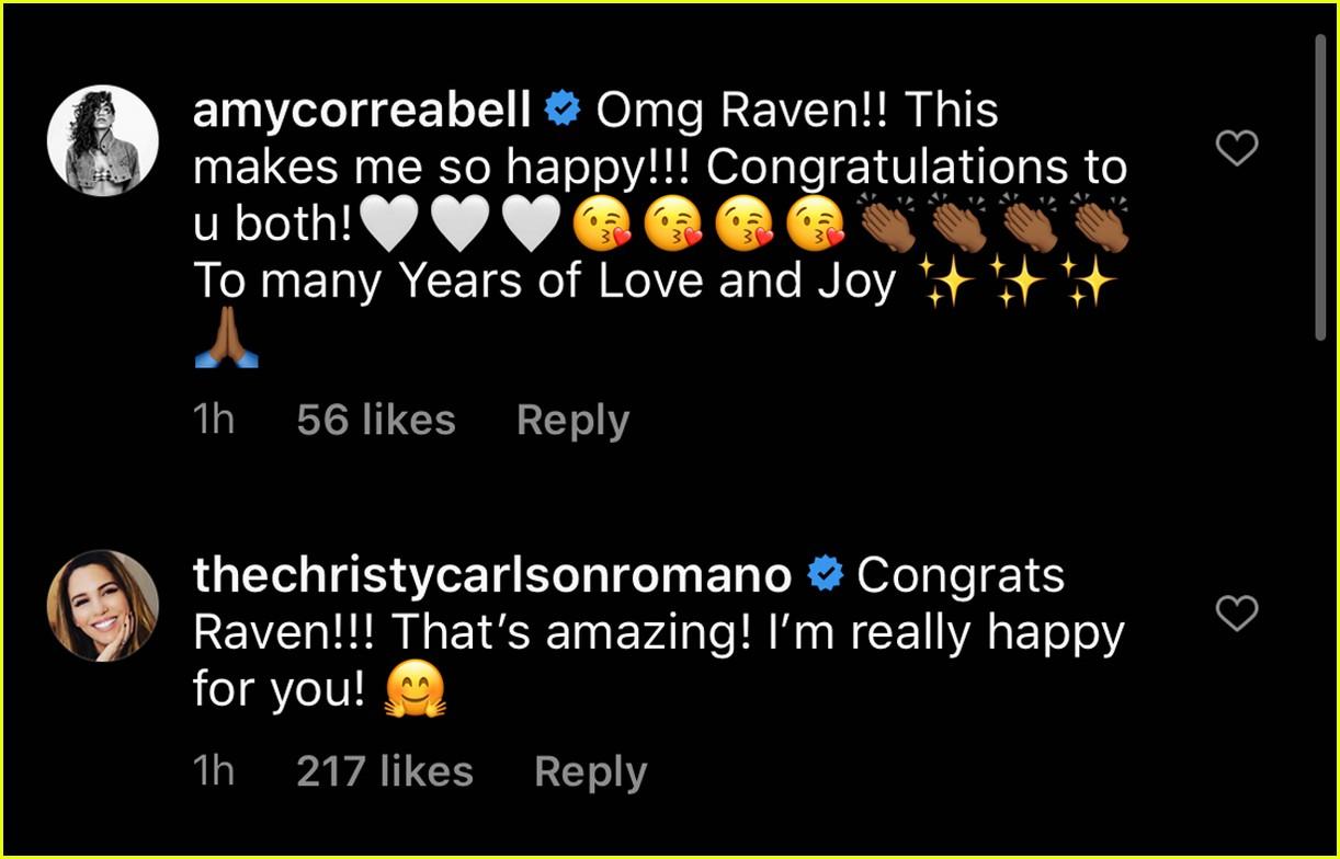 cheetah girls disney stars congratulate raven symone on wedding 08