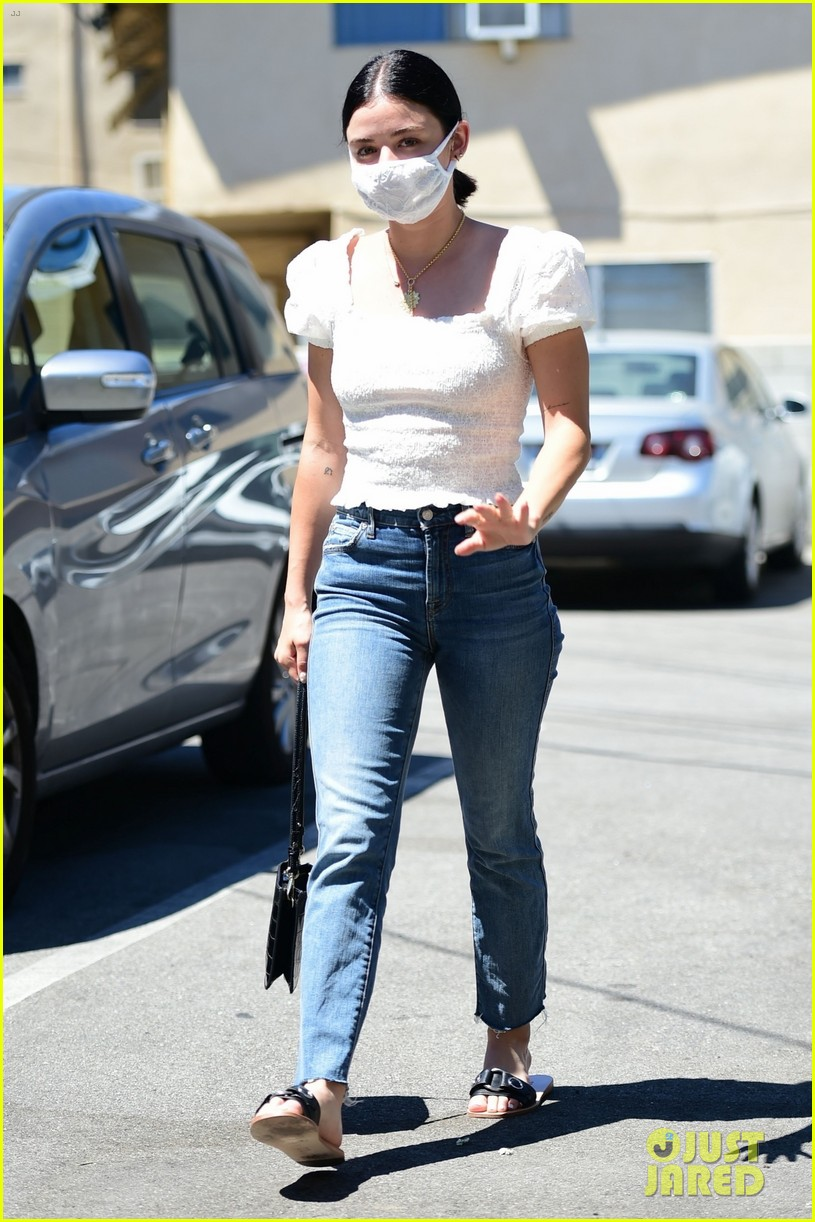 lucy hale gets a temperature check 05