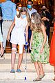 infanta sofia injured knee leans on leonor fam visit 43