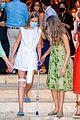 infanta sofia injured knee leans on leonor fam visit 44