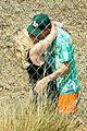 ashley benson g eazy share a kiss music video set 03