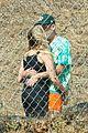 ashley benson g eazy share a kiss music video set 14