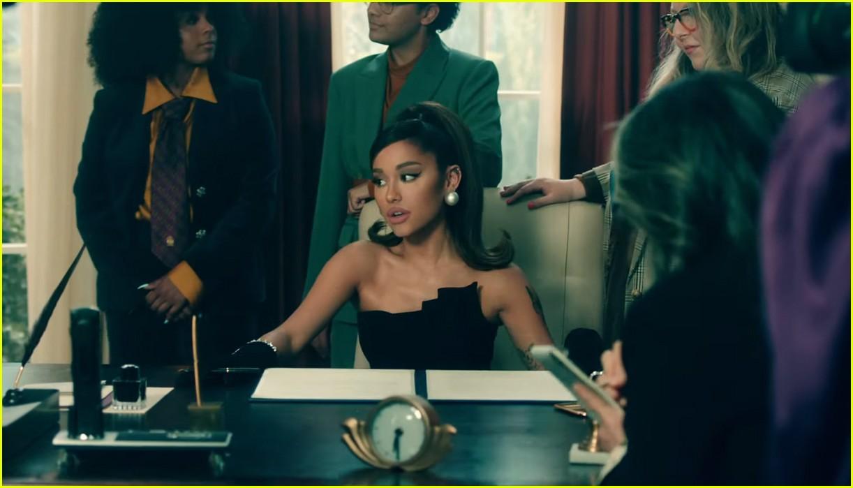ariana grande positions music video 07