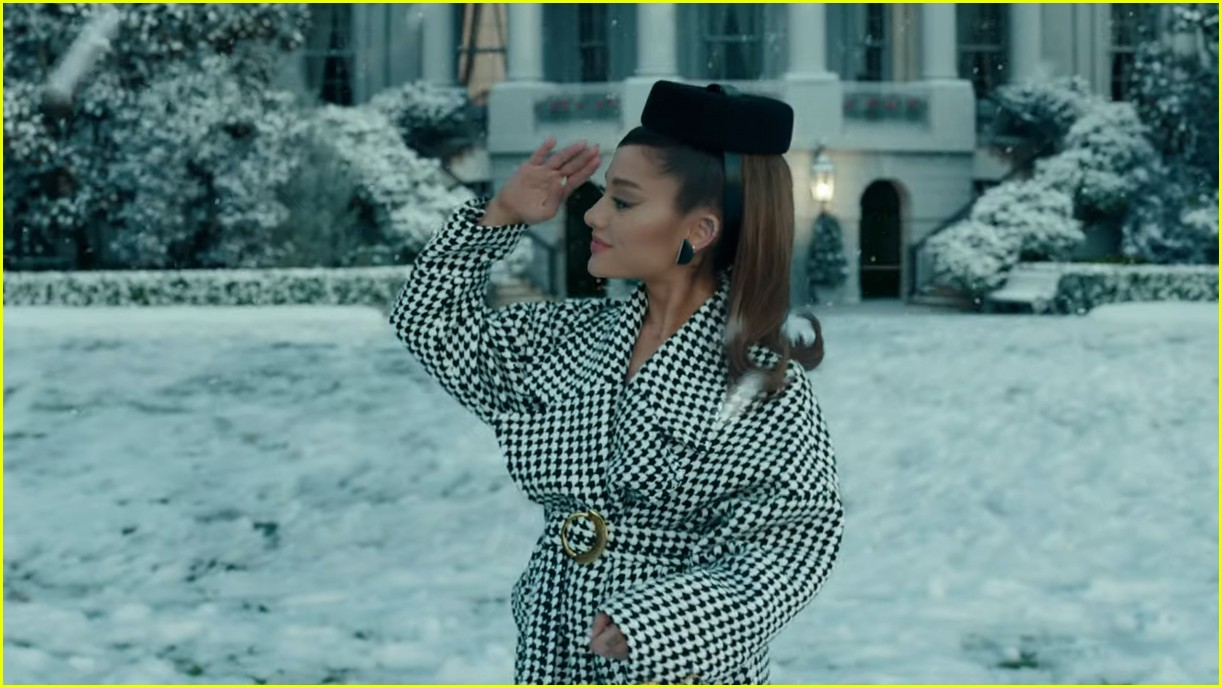 ariana grande positions music video 17