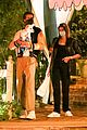 kaia gerber brings her dog to dinner with jacob elordi 05