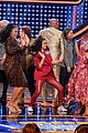 disney channel moms faced off against mixed ish cast on celebrity family feud 06
