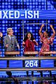 disney channel moms faced off against mixed ish cast on celebrity family feud 08