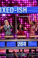 disney channel moms faced off against mixed ish cast on celebrity family feud 09