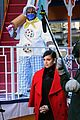 sofia carson pre tapes segment for macys thanksgiving day parade 08