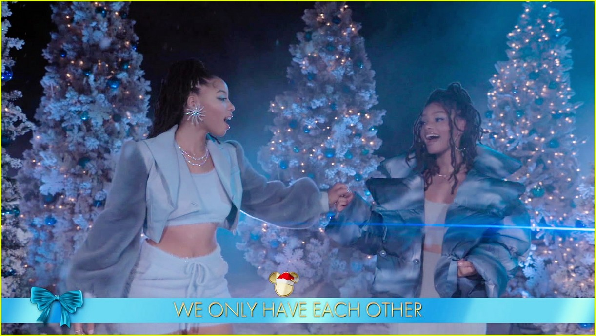relive bts chloe x halle more performances from disney holiday singalong 15
