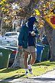 jacob elordi short shorts workout with kaia gerber 14