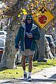 jacob elordi short shorts workout with kaia gerber 16