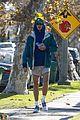 jacob elordi short shorts workout with kaia gerber 18
