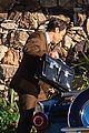 harry styles looks dapper in two suits on dont worry darling set in palm springs 13