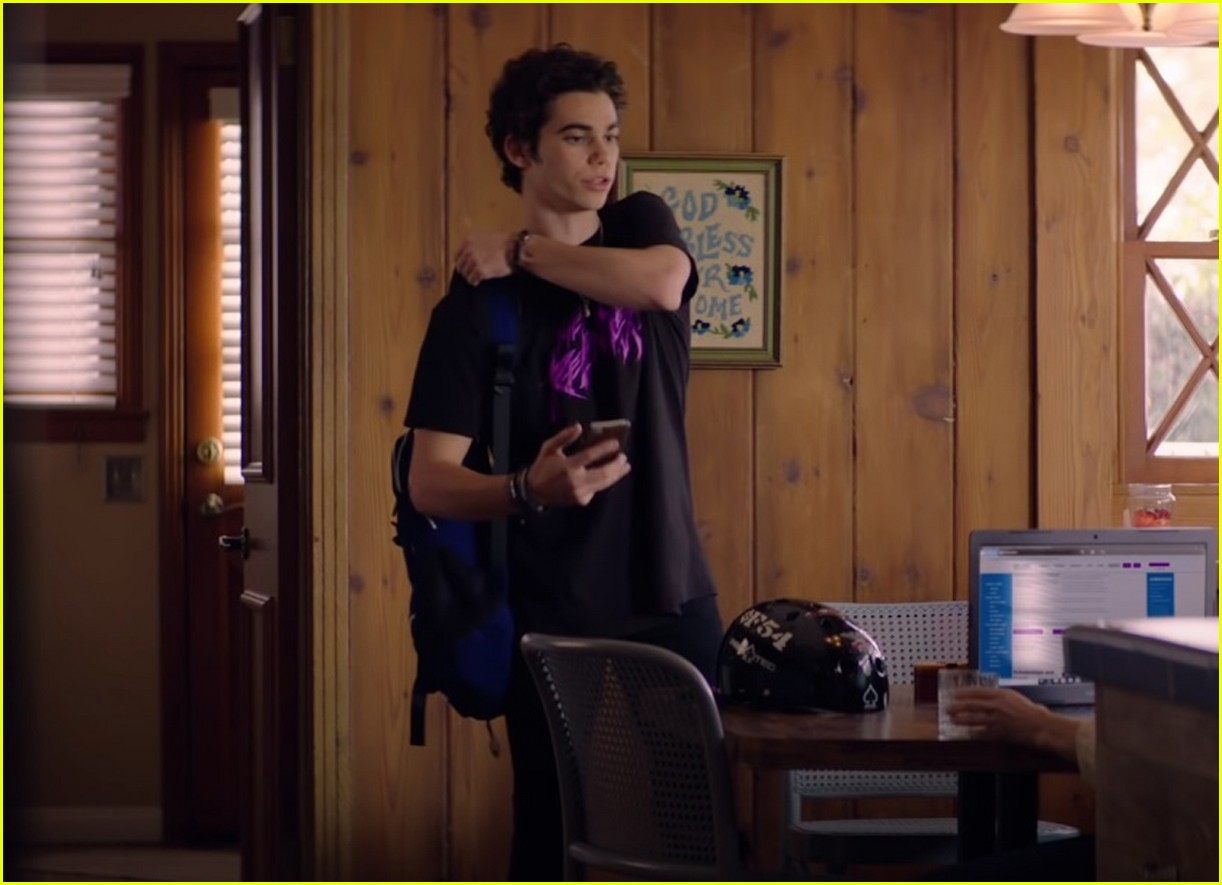 cameron boyce is a rockstar in trailer for final project paradise city out in march 05