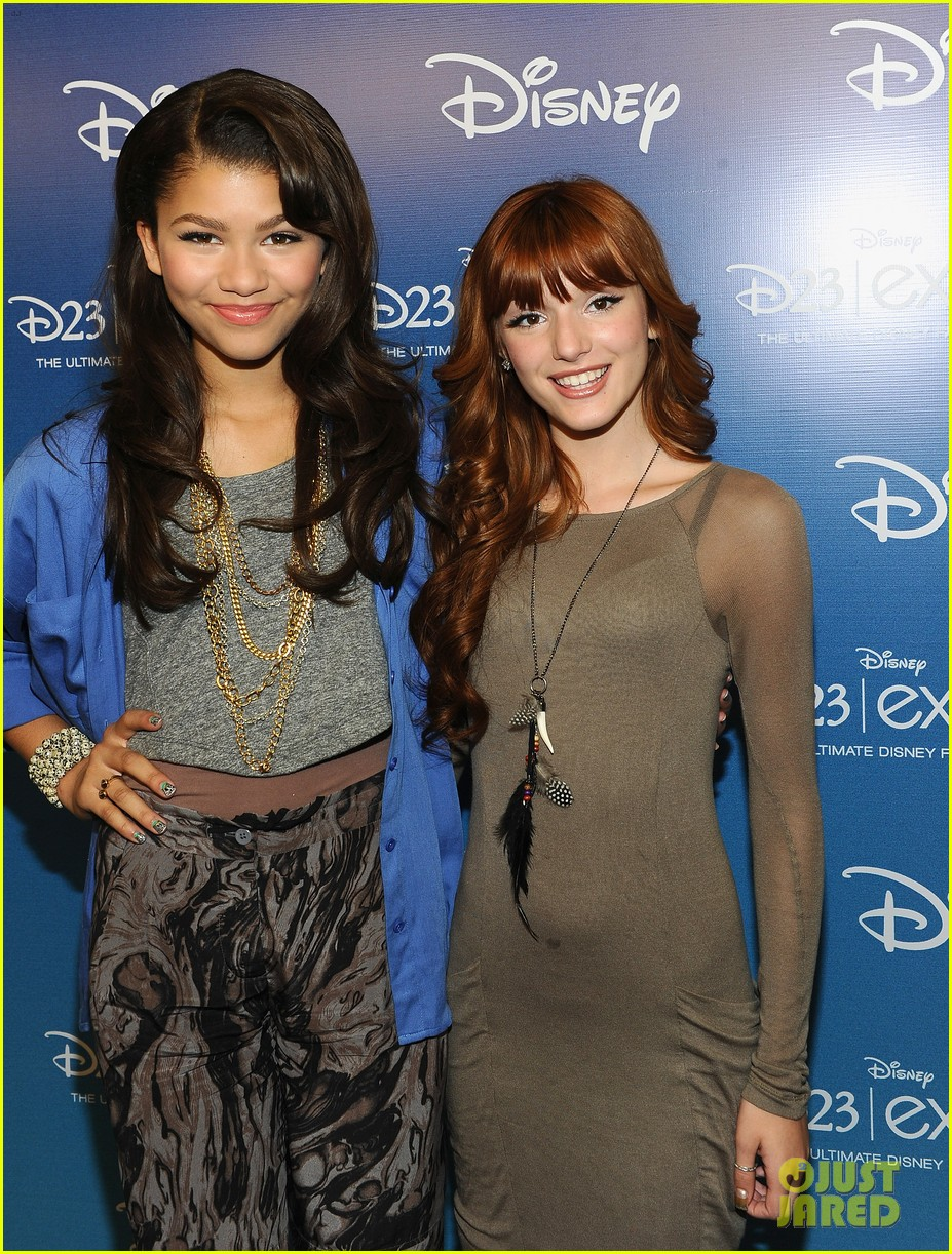 bella thorne says this made her and zendaya not be friends during first season of shake it up 02