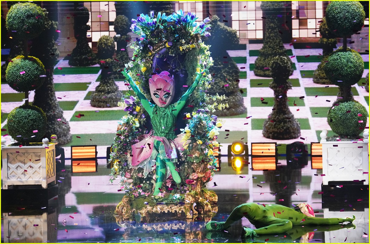 tulip unmasked on the masked dancer shares bts photos 05